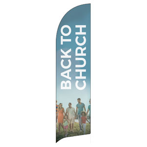 BTCS People Back to Church Banners
