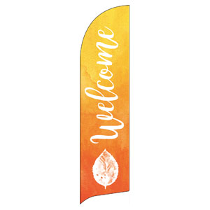 Youre Invited Orange Flag Banner