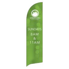 CityReach Blurred Green Banner