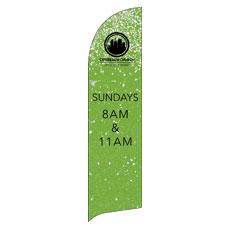 CityReach Green Pebble Fade Banner