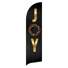 Gold Joy Wreath