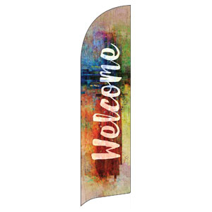 This is Love Easter Flag Banner