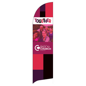 BTCS Together Flag Banner