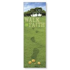 Footsteps Spring Banner