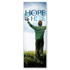 Hope is Here Banner