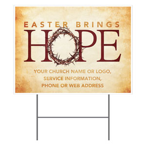 Hope Crown Yard Signs