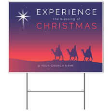 Christmas Wise Men Yard Sign