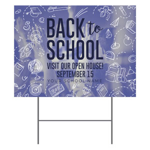Back to School YardSigns