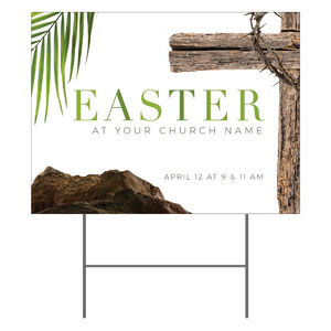 Easter Week Icons YardSigns
