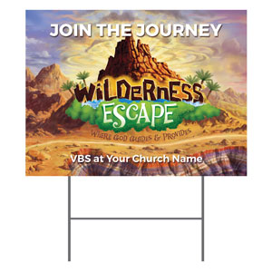 Wilderness Escape YardSigns