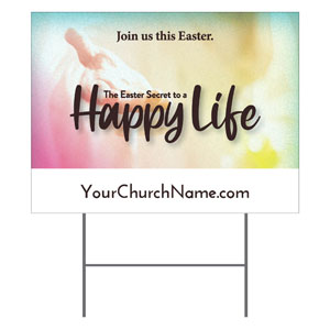Happy Life YardSigns