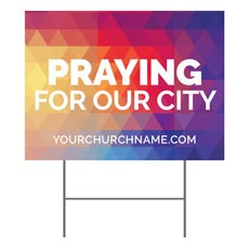Geometric Bold Praying For Our City