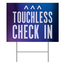 Aurora Lights Touchless Check In
