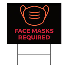 Hope Life Cross Face Masks Required