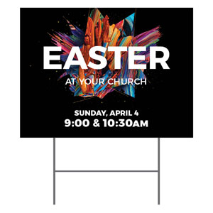 CMU Easter Invite 2021 YardSigns